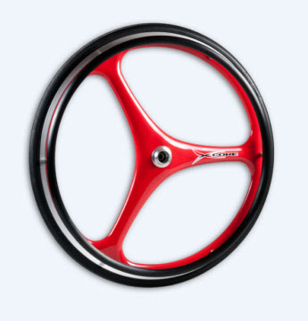 Custom 3 Spoke xcore wheels