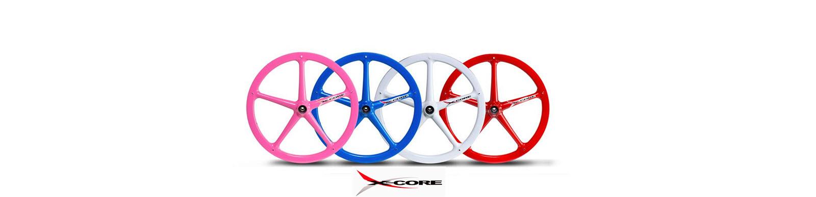 5 Spoke Xcore wheels