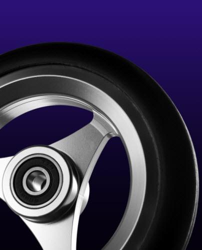 shox caster wheels