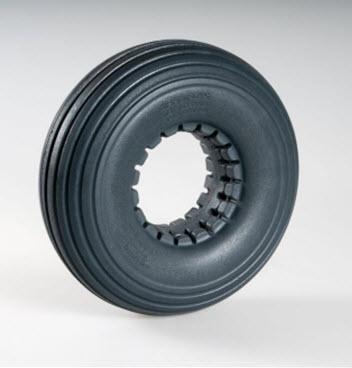 solid polyurethane tire
