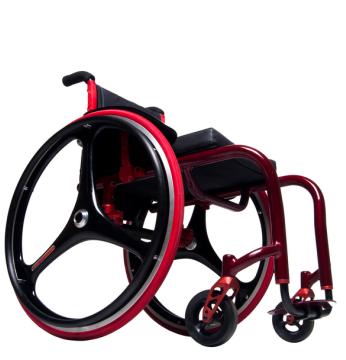 Custom Wheelchair with Carbon Fiber Wheels