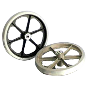 Over Mold Plastic Wheel Assembly