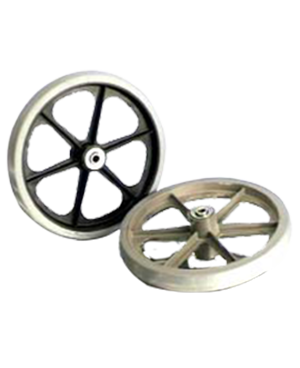Over Mold Wheel Assembly