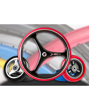 Polyurethane Wheel Assembly